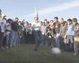 Octubre del 2005… Sobisch Inaugura la cancha de San Lorenzo